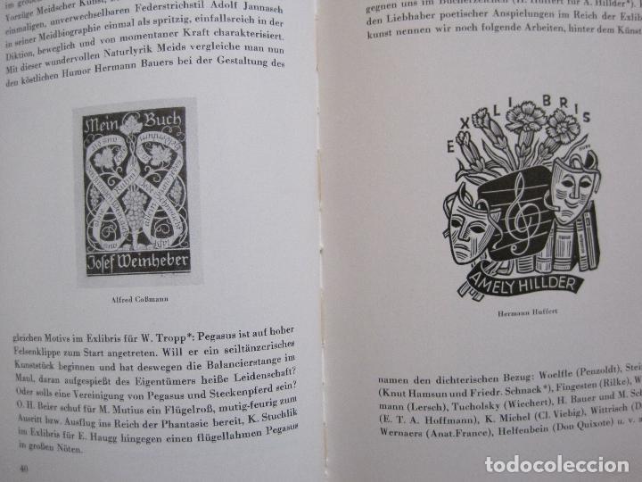 Arte: EX LIBRIS - KUNST - DR. HANS LAUT - BERLIN 1955 -VER FOTOS-(X-2268) - Foto 19 - 127147983