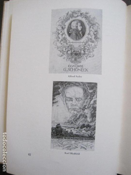 Arte: EX LIBRIS - KUNST - DR. HANS LAUT - BERLIN 1955 -VER FOTOS-(X-2268) - Foto 20 - 127147983