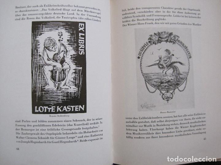 Arte: EX LIBRIS - KUNST - DR. HANS LAUT - BERLIN 1955 -VER FOTOS-(X-2268) - Foto 21 - 127147983