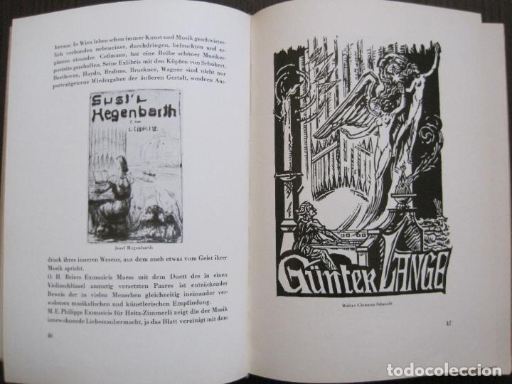 Arte: EX LIBRIS - KUNST - DR. HANS LAUT - BERLIN 1955 -VER FOTOS-(X-2268) - Foto 22 - 127147983