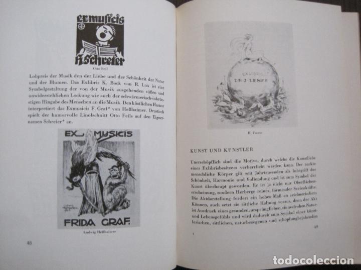 Arte: EX LIBRIS - KUNST - DR. HANS LAUT - BERLIN 1955 -VER FOTOS-(X-2268) - Foto 23 - 127147983