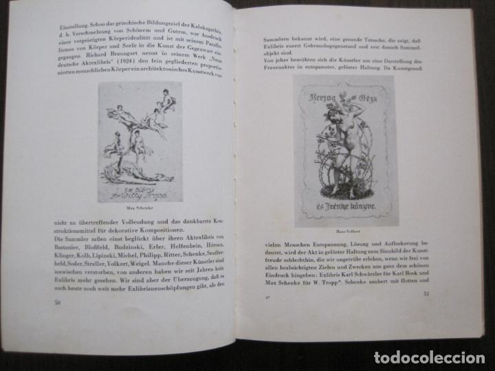 Arte: EX LIBRIS - KUNST - DR. HANS LAUT - BERLIN 1955 -VER FOTOS-(X-2268) - Foto 24 - 127147983