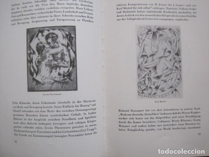 Arte: EX LIBRIS - KUNST - DR. HANS LAUT - BERLIN 1955 -VER FOTOS-(X-2268) - Foto 25 - 127147983