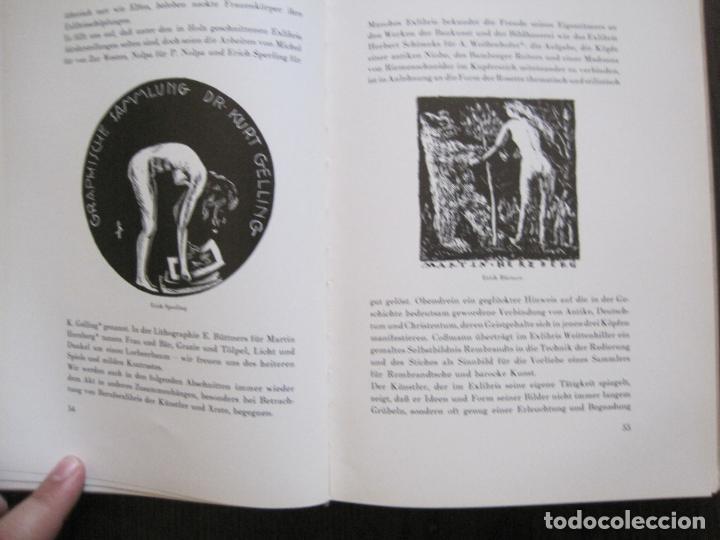 Arte: EX LIBRIS - KUNST - DR. HANS LAUT - BERLIN 1955 -VER FOTOS-(X-2268) - Foto 26 - 127147983