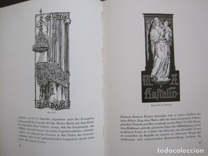 Arte: EX LIBRIS - KUNST - DR. HANS LAUT - BERLIN 1955 -VER FOTOS-(X-2268) - Foto 27 - 127147983