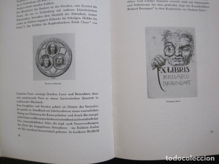 Arte: EX LIBRIS - KUNST - DR. HANS LAUT - BERLIN 1955 -VER FOTOS-(X-2268) - Foto 28 - 127147983
