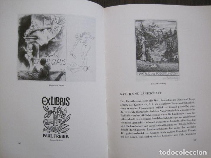 Arte: EX LIBRIS - KUNST - DR. HANS LAUT - BERLIN 1955 -VER FOTOS-(X-2268) - Foto 29 - 127147983