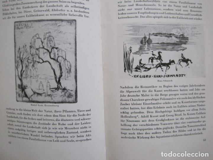 Arte: EX LIBRIS - KUNST - DR. HANS LAUT - BERLIN 1955 -VER FOTOS-(X-2268) - Foto 30 - 127147983