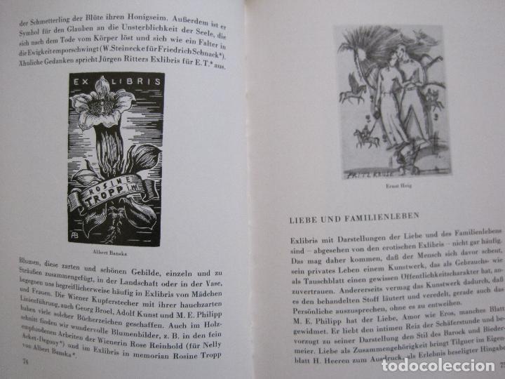 Arte: EX LIBRIS - KUNST - DR. HANS LAUT - BERLIN 1955 -VER FOTOS-(X-2268) - Foto 36 - 127147983
