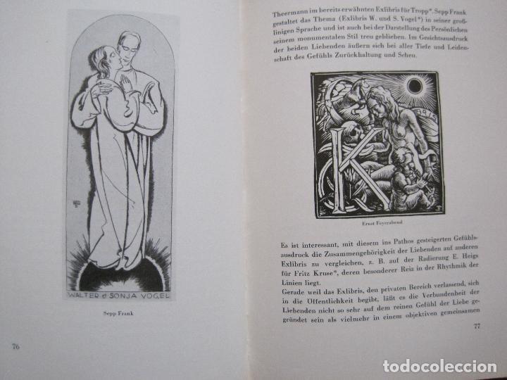 Arte: EX LIBRIS - KUNST - DR. HANS LAUT - BERLIN 1955 -VER FOTOS-(X-2268) - Foto 37 - 127147983