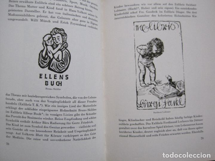 Arte: EX LIBRIS - KUNST - DR. HANS LAUT - BERLIN 1955 -VER FOTOS-(X-2268) - Foto 38 - 127147983
