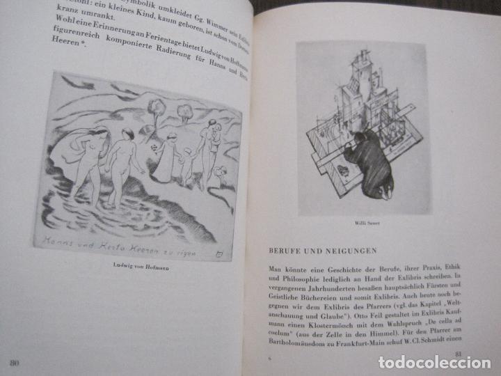 Arte: EX LIBRIS - KUNST - DR. HANS LAUT - BERLIN 1955 -VER FOTOS-(X-2268) - Foto 39 - 127147983