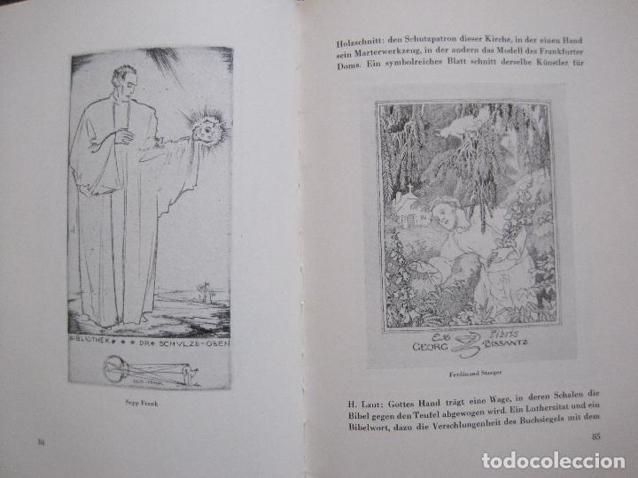 Arte: EX LIBRIS - KUNST - DR. HANS LAUT - BERLIN 1955 -VER FOTOS-(X-2268) - Foto 41 - 127147983