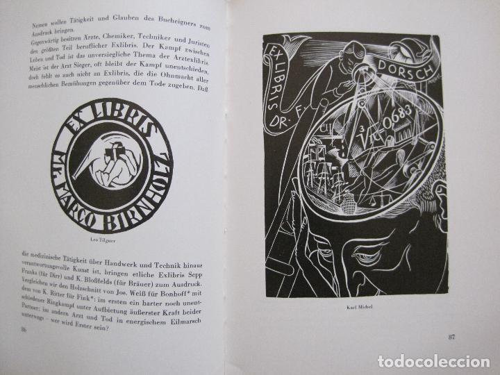 Arte: EX LIBRIS - KUNST - DR. HANS LAUT - BERLIN 1955 -VER FOTOS-(X-2268) - Foto 42 - 127147983