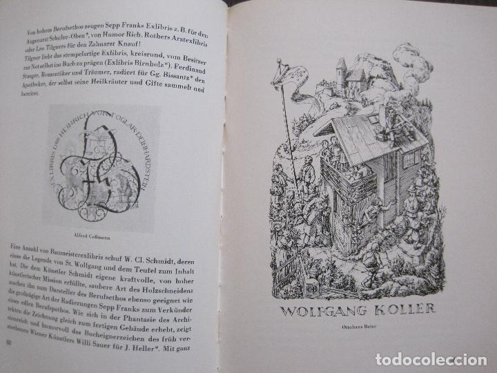 Arte: EX LIBRIS - KUNST - DR. HANS LAUT - BERLIN 1955 -VER FOTOS-(X-2268) - Foto 43 - 127147983