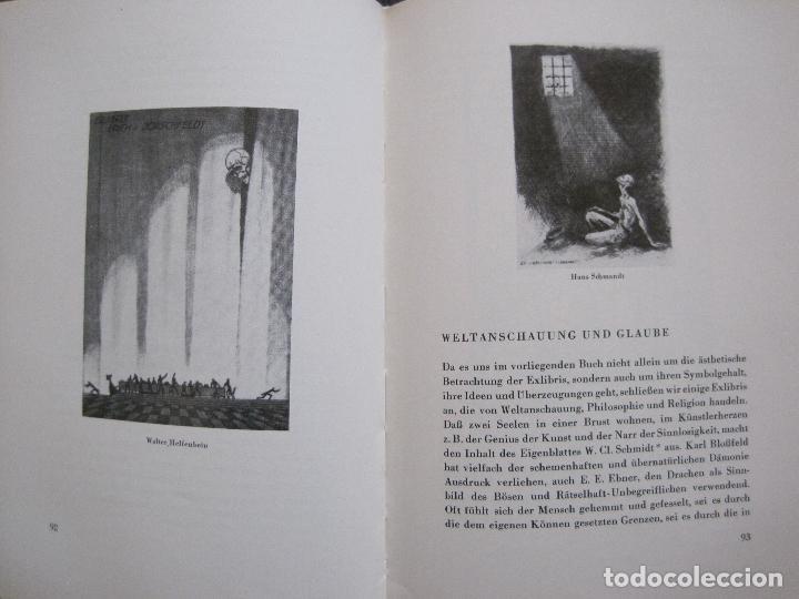 Arte: EX LIBRIS - KUNST - DR. HANS LAUT - BERLIN 1955 -VER FOTOS-(X-2268) - Foto 45 - 127147983