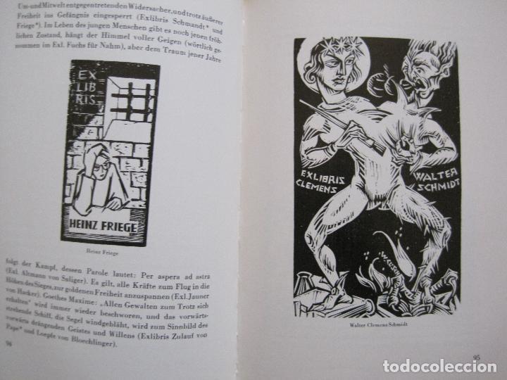 Arte: EX LIBRIS - KUNST - DR. HANS LAUT - BERLIN 1955 -VER FOTOS-(X-2268) - Foto 46 - 127147983
