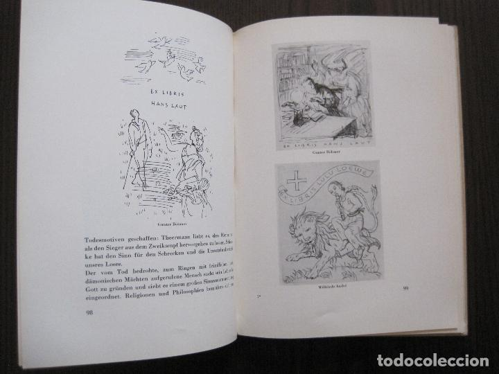 Arte: EX LIBRIS - KUNST - DR. HANS LAUT - BERLIN 1955 -VER FOTOS-(X-2268) - Foto 48 - 127147983
