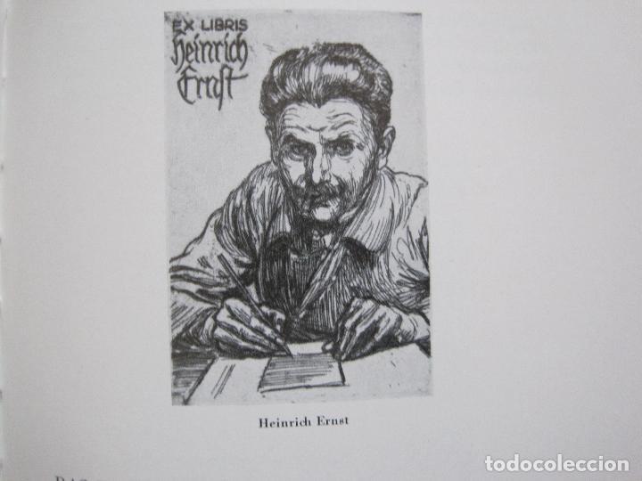 Arte: EX LIBRIS - KUNST - DR. HANS LAUT - BERLIN 1955 -VER FOTOS-(X-2268) - Foto 49 - 127147983