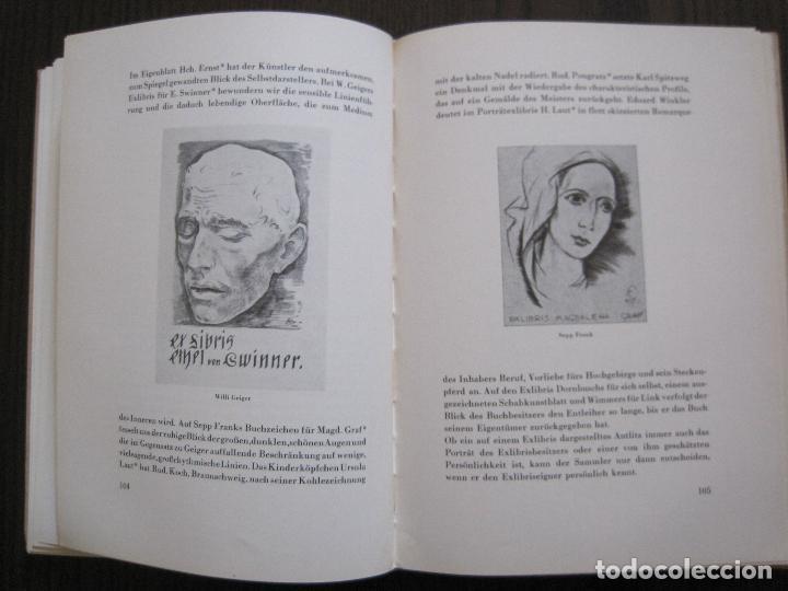 Arte: EX LIBRIS - KUNST - DR. HANS LAUT - BERLIN 1955 -VER FOTOS-(X-2268) - Foto 50 - 127147983