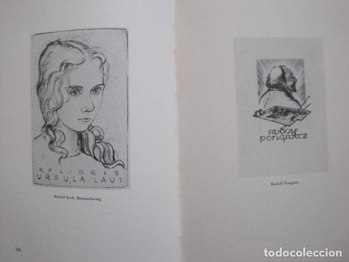 Arte: EX LIBRIS - KUNST - DR. HANS LAUT - BERLIN 1955 -VER FOTOS-(X-2268) - Foto 51 - 127147983