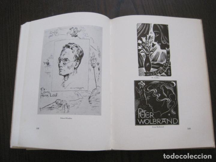 Arte: EX LIBRIS - KUNST - DR. HANS LAUT - BERLIN 1955 -VER FOTOS-(X-2268) - Foto 52 - 127147983