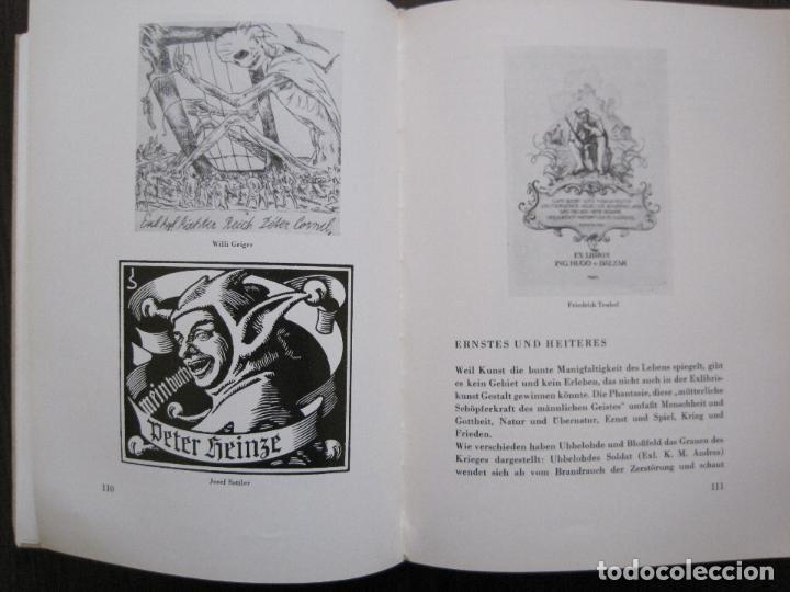 Arte: EX LIBRIS - KUNST - DR. HANS LAUT - BERLIN 1955 -VER FOTOS-(X-2268) - Foto 53 - 127147983