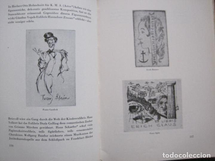 Arte: EX LIBRIS - KUNST - DR. HANS LAUT - BERLIN 1955 -VER FOTOS-(X-2268) - Foto 55 - 127147983