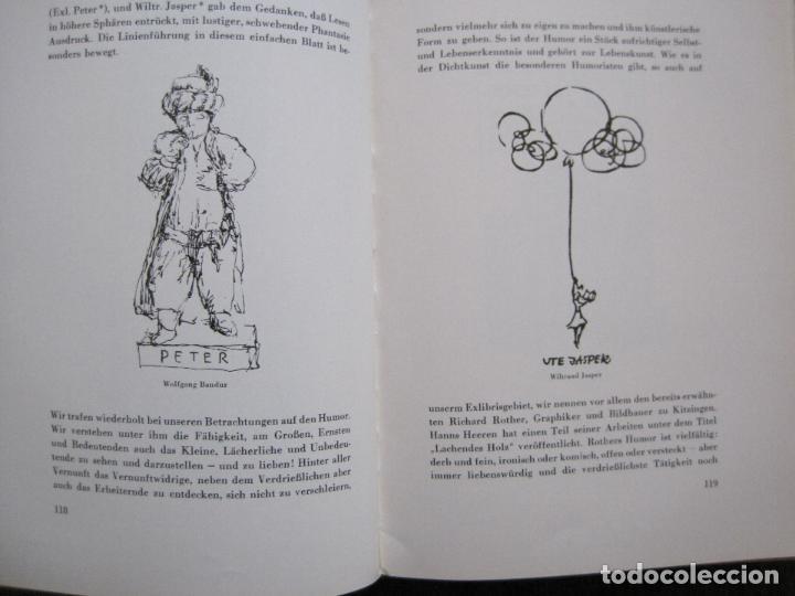 Arte: EX LIBRIS - KUNST - DR. HANS LAUT - BERLIN 1955 -VER FOTOS-(X-2268) - Foto 56 - 127147983