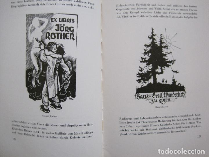 Arte: EX LIBRIS - KUNST - DR. HANS LAUT - BERLIN 1955 -VER FOTOS-(X-2268) - Foto 57 - 127147983