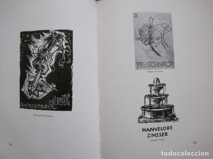 Arte: EX LIBRIS - KUNST - DR. HANS LAUT - BERLIN 1955 -VER FOTOS-(X-2268) - Foto 59 - 127147983