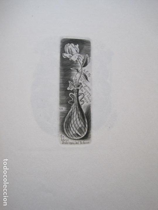 Arte: 20 EX LIBRIS-VI CONGRESO EUROPEO-MEDINACELLI -PLA..-AÑO 1958-PAPEL HILO GUARRO -VER FOTOS-(X-2270) - Foto 9 - 127149343