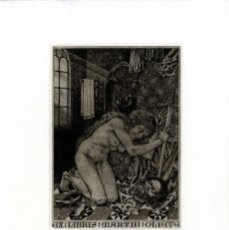 Arte: KONSTANTIN KALINOWITSCH. EX-LIBRIS PARA MARTÍN OLIETE . Lote 127775515