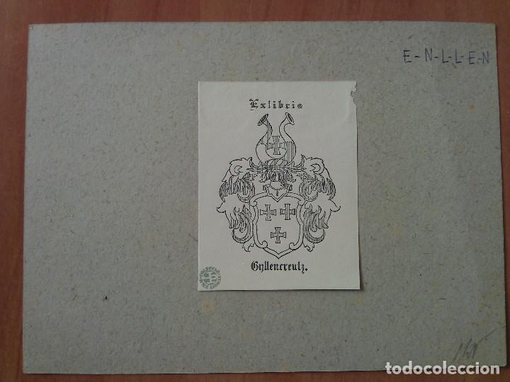 EX LIBRIS : ESCUDO HERÁLDICO (Arte - Ex Libris)