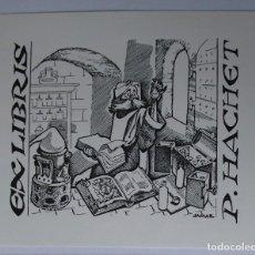 Arte: .341 EX-LIBRIS EXLIBRIS JAMAR. ALQUIMIA ALQUIMISTA. Lote 133723590