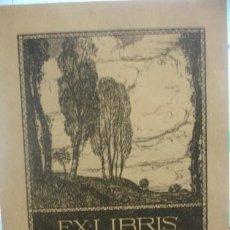 Arte: EX-LIBRIS HANNS MODLER - PORTAL DEL COL·LECCIONISTA *****. Lote 136478258