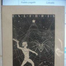 Arte: EX-LIBRIS MAX-HAYN - PORTAL DEL COL·LECCIONISTA *****. Lote 136479546
