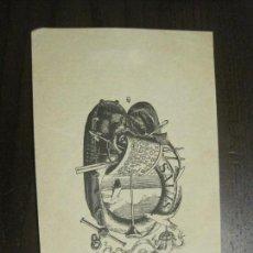Arte: EX LIBRIS - JOAN ABADAL CASTELLS - VER FOTOS - (X-2385). Lote 138608350