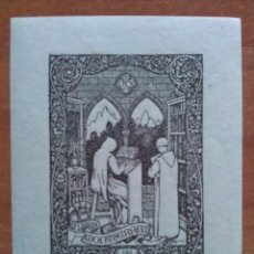 Arte: EX LIBRIS JOAQUÍN FIGUEROLA 1920. Lote 157905148