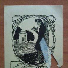 Arte: EX LIBROS PRAGA 1909. Lote 138639210