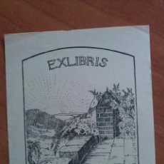 Arte: EX LIBRIS - AGATHE GELL HORN. Lote 138720014