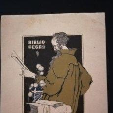 Arte: EX-LIBRIS DE LUIS GARCIA FALGÁS PER BIBLIO/TECA /PRO EX-LIBRIS - 1920. Lote 138778370
