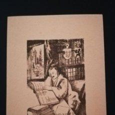 Arte: EXLIBRIS H. FORNARO 1925. Lote 138778794