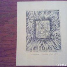 Arte: O.44 EX-LIBRIS EXLIBRIS BOOKPLATE CZESLAW WOS. Lote 140398998