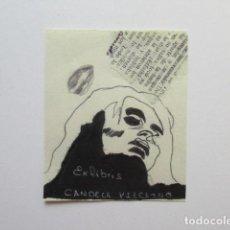 Arte: EX LIBRIS CANDELA VIZCAÍNO, CARVACEDO. Lote 140880422