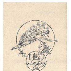 Arte: EX- LIBRIS.- JUAN TORRES SALA. DIBUJADO POR JULIO FT. - 1950. Lote 141231122