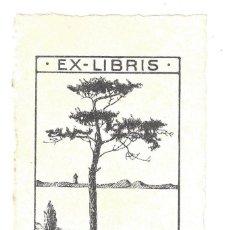 Arte: EX- LIBRIS.- EMMA PUDOR. AÑOS 20. Lote 141803382