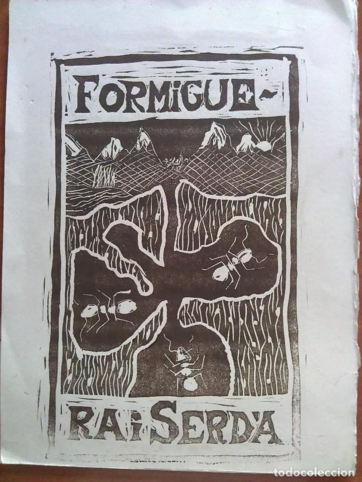 ES LIBRIS - GRABADO A DOBLE CARA (Arte - Ex Libris)