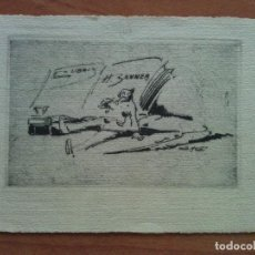 Arte: EX LIBRIS - DE RUD HESSE PARA HUGO SANNER. Lote 143022022
