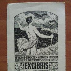 Arte: EX LIBRIS H. V. STEIN. Lote 143022050
